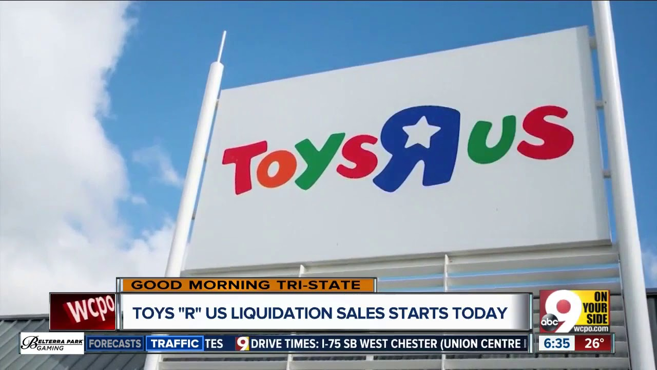 Toys R Us going-out-of-business sale starts Friday