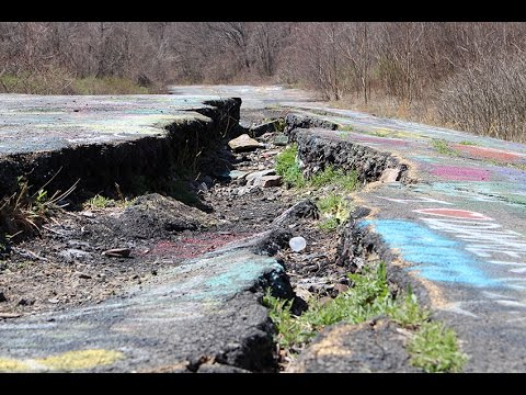 how to get to graffiti highway centralia pa