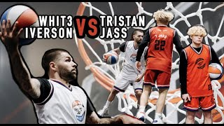 Whit3 iverson vs Tjass, Cashnasty, Jay jones in Reebook 3 on 3 tournement in New York!!!