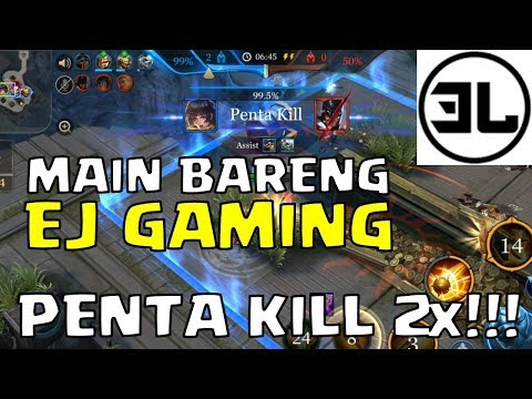 Hook Wars Bareng EJ GAMING - Dapet Penta Kill 2x - AOV