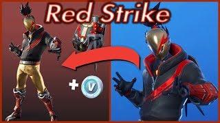 Fortnite: Red Strike - Red Avenger STARTER PACK SKIN
