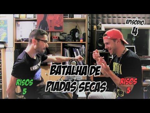 Batalha de Piadas Secas Ep.4 - Nelson vs Jorge | NãoQueresNada