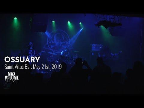 OSSUARY live at Saint Vitus Bar, May 21st, 2019 (FULL SET)