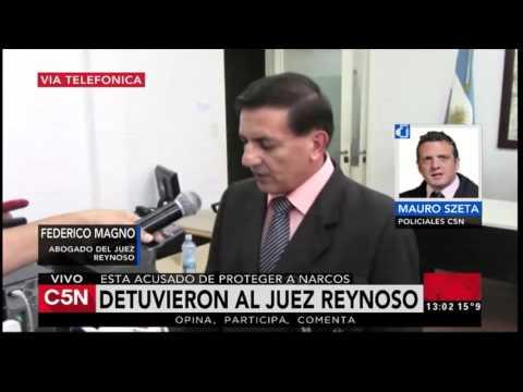 C5N - Policiales: Detuvieron al juez Reynoso