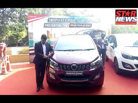 Mahindra Unveils the Marazzo Globally Engineered with a Bold Design