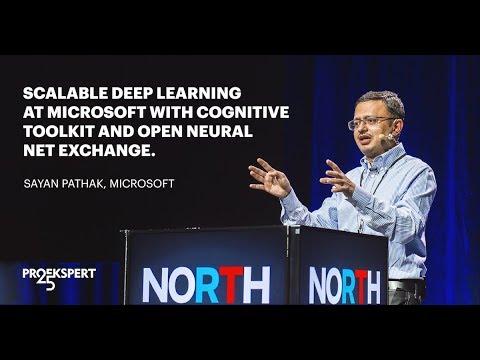"Sayan Pathak: ""Scalable Deep Learning at Microsoft""."