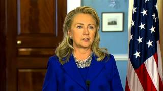 Secretary Clinton Delivers Remarks With Tunisian Foreign Minister Abdessalem
