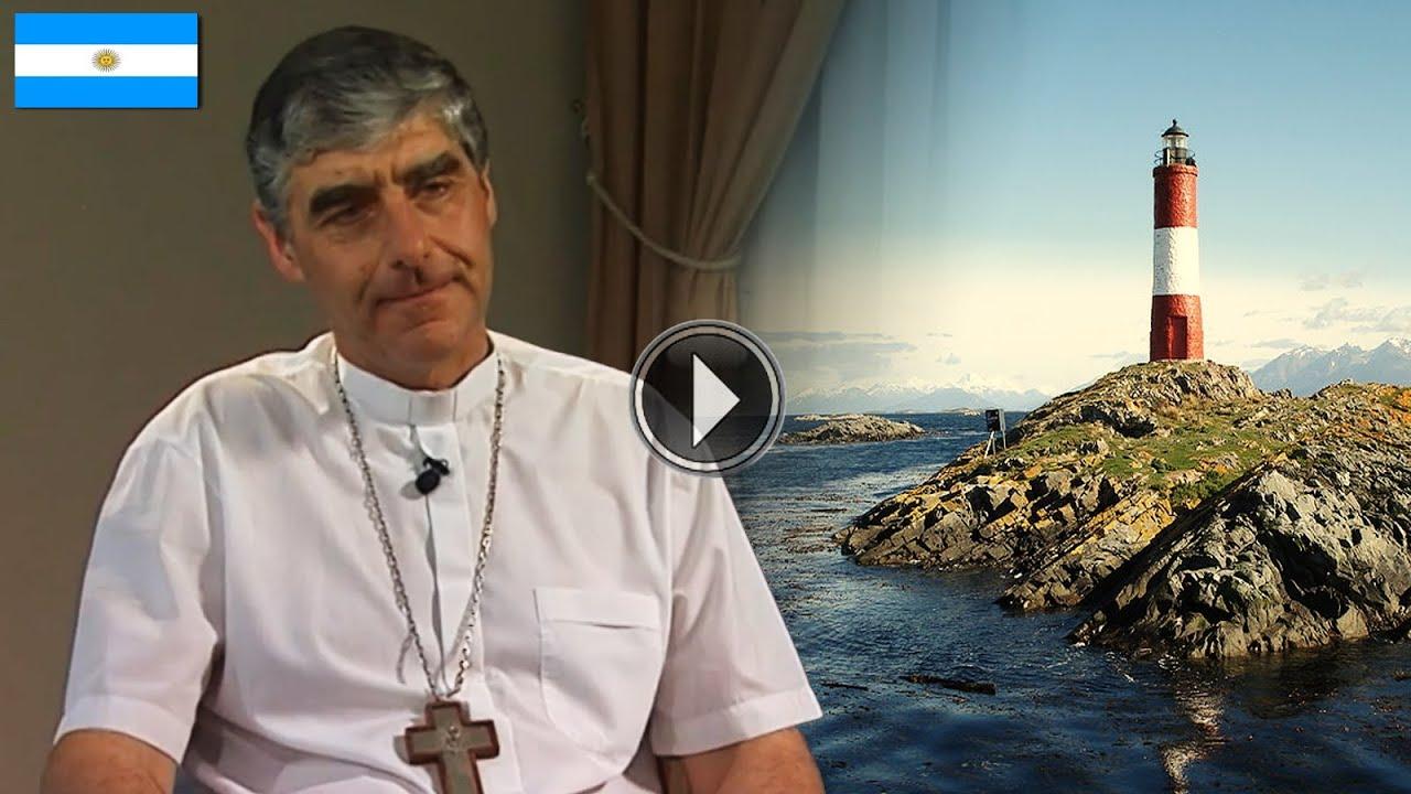 Mons. Miguel Ángel D'Annibale Obispo Auxiliar de Rio Gallegos, Argentina