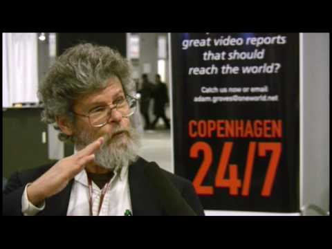 OneClimate interview with Coral Reef Expert Thomas Goreau at COP15 in Copenhagen - 1
