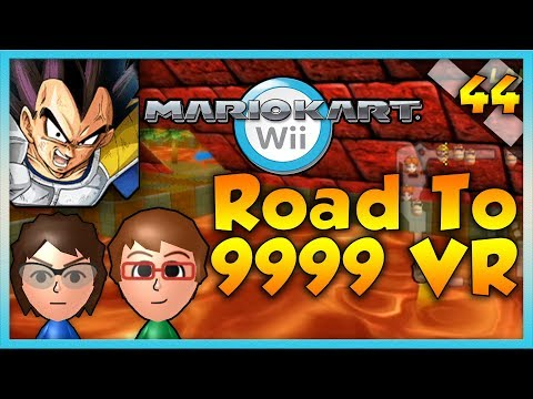 Mario Kart Wii Custom Tracks - IT'S OVER 9000!!! - Road To 9999 VR | Ep. 44