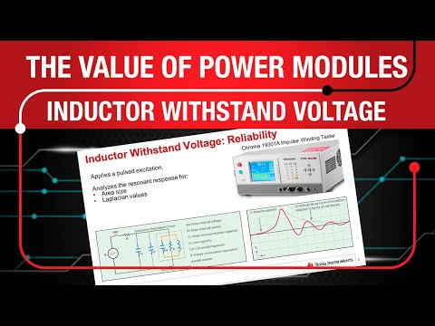 Power Modules: Inductor Withstand Voltage