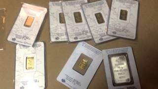 *** FAKE *** PAMP SUISSE bars 2.5 gram!!! Bought on Ebay!!! FAKE GOLD BARS!!!