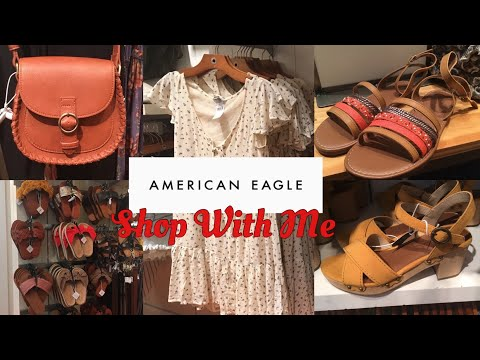 American Eagle Outfitters SHOP WITH ME