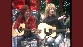 Jim Lea & Noddy Holder on Razzamatazz 1985