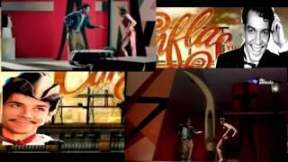 Cantinflas y Oscar Jaenada en El bolero de Raquel(baile)