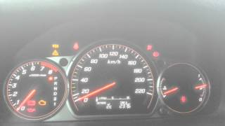 Тест srs на Honda CR-V 2005
