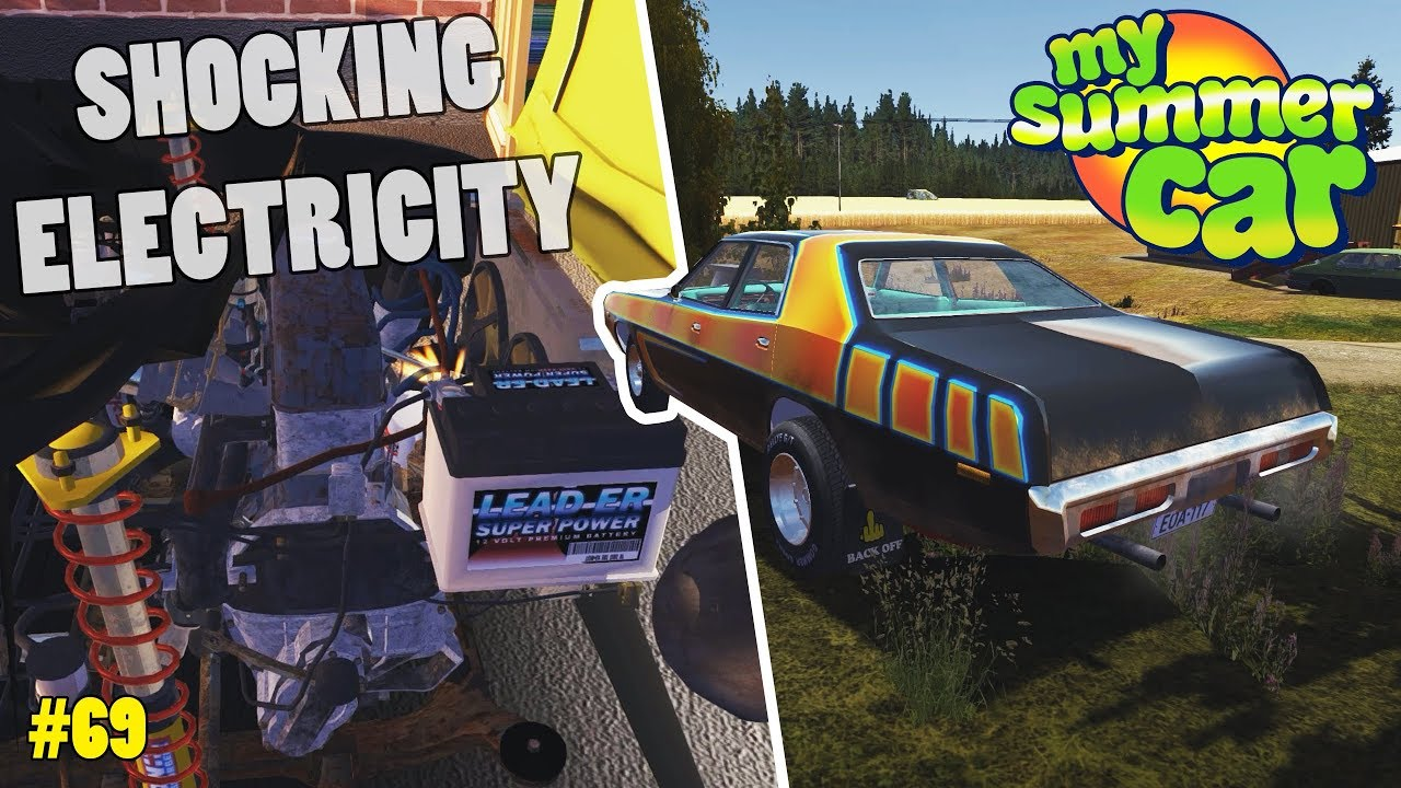Electric Wiring Amplifier Ferndale Update My Summer Car Beta Electrical Drag Race