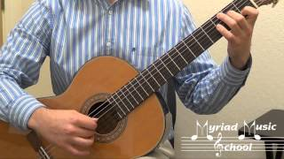 Duncan Classical Guitar Book 1 - Page 34 - The Streets of Laredo (Accompaniment)