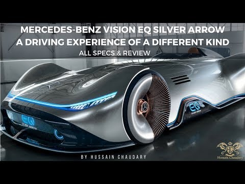 Mercedes-Benz Vision EQ Silver Arrow: A Driving Experience Of A Different Kind |All Specs & Review|