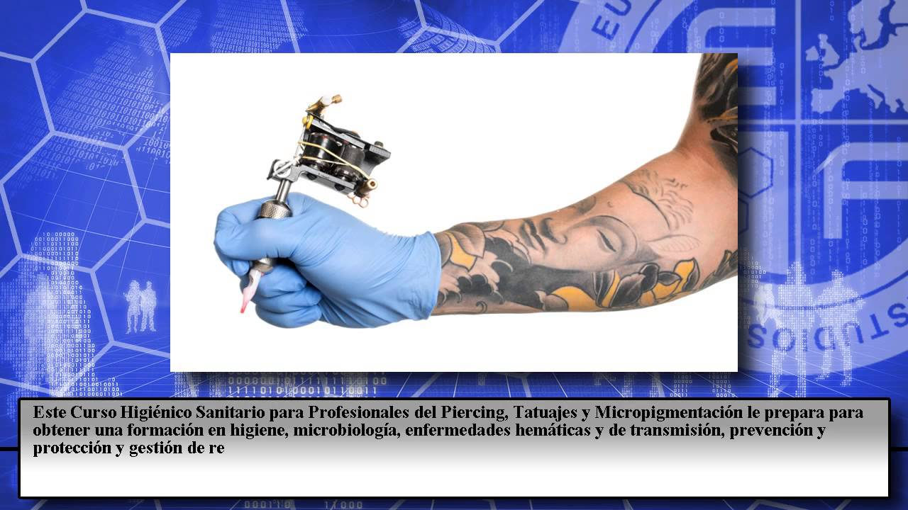 Tatuajes Cursos curso sanitario piercing tatuaje micropigmentacion - cursos online