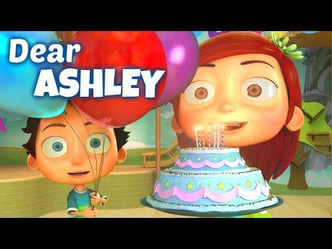 Happy Birthday Song to Ashley