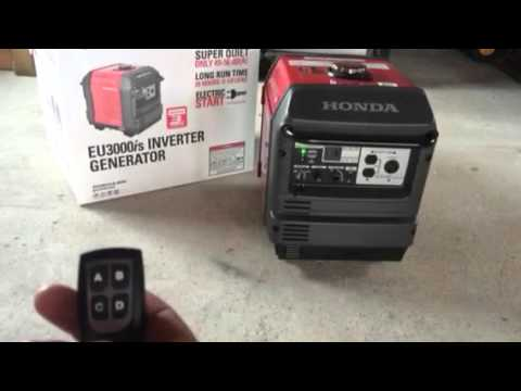 eu3000is wireless remote start youtube rh youtube com remote start honda generators remote start honda 3000 generator