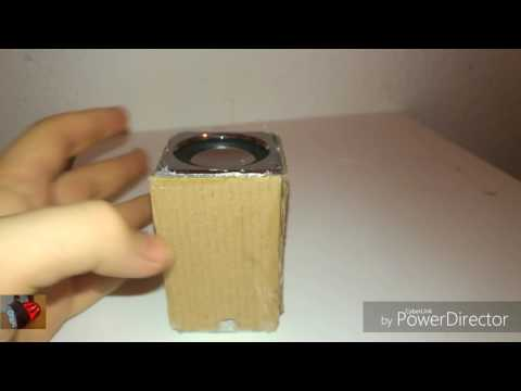 Bekannt DIY Lautsprecher selber bauen   Pringles Lautsprecher  Chipsdose VX91