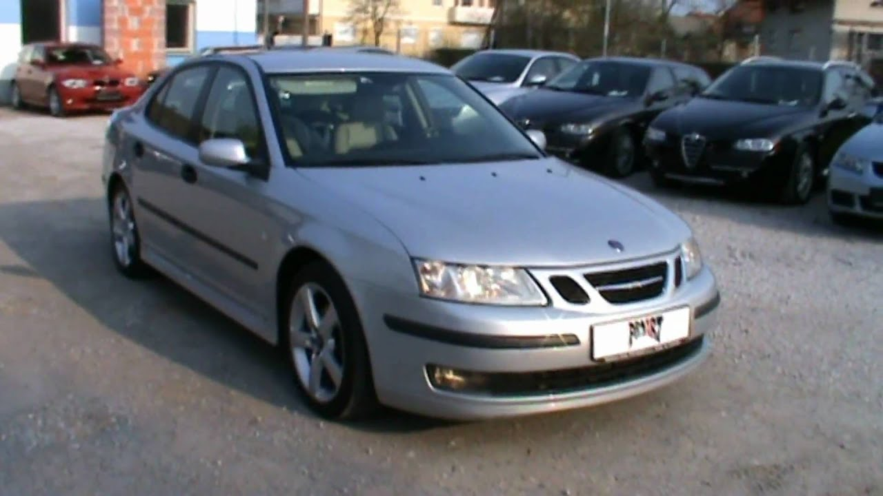 Saab 9 3 Vector 1 Tids Steptronic Full Review Start Up Engine And In Depth Tour