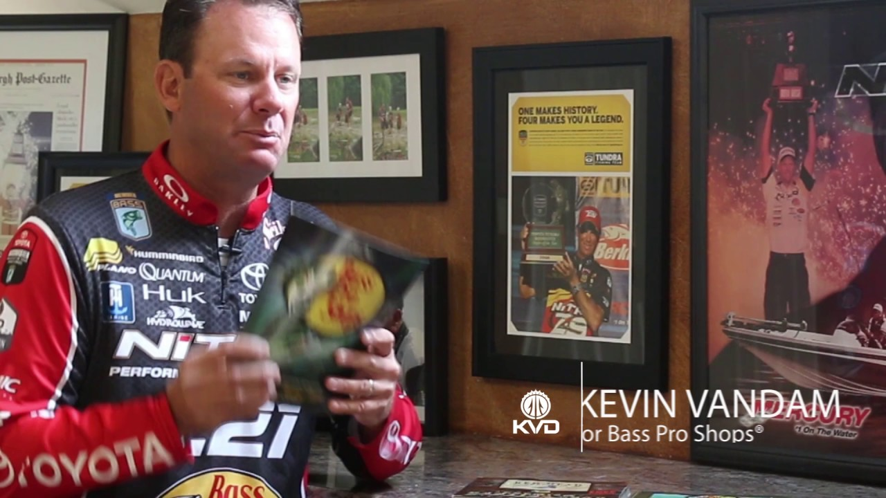 KVD - Kevin VanDam - Bass Pro Shops overview