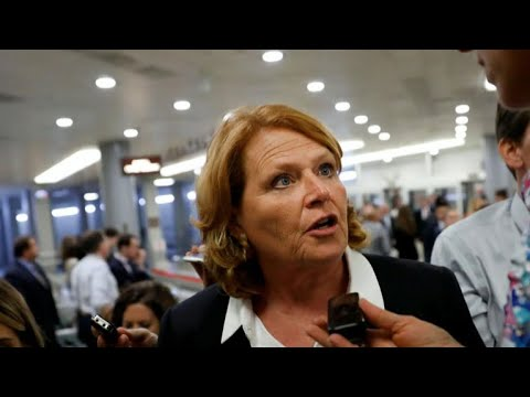 Sen. Heidi Heitkamp calls women to apologize for identifying them in ad