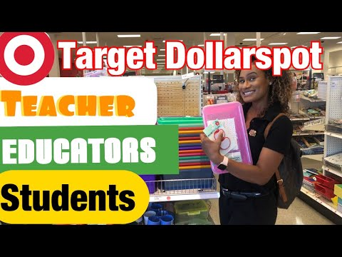 Target DOLLAR SPOT - Teachers And Students Offers | Back To School Shopping  | #Target #Shopwithme