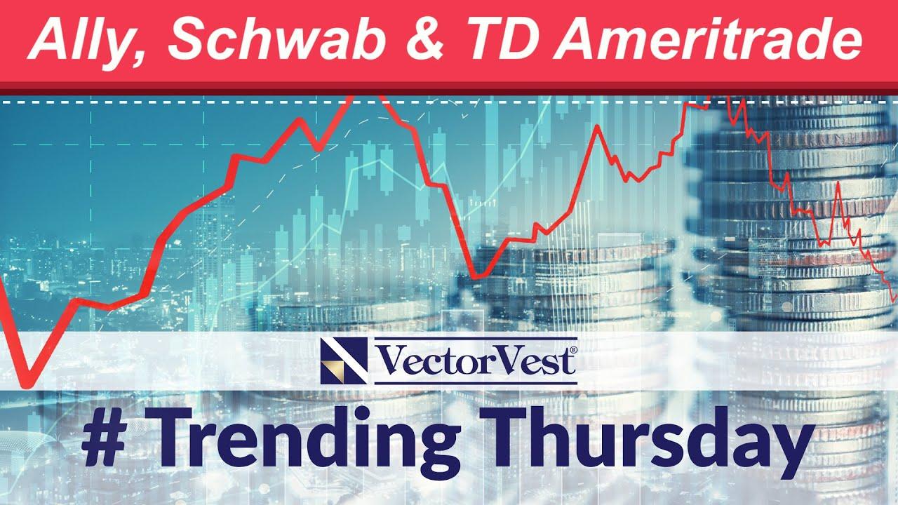 """""""Ally Invest"""" prieš """"Robinhood"""" ir """"TD Ameritrade """" palyginimas * Akcijų brokeriai"""