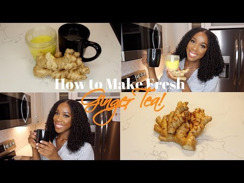 HOW TO: FRESH GINGER TEA | DIY | TheLifestyleLuxe