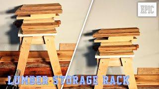 My Next Project: Lumber Storage Rack