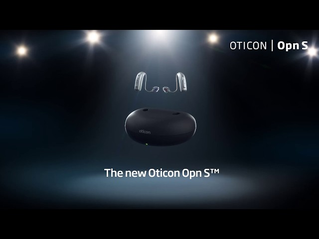 The new Oticon Opn S™ in a rechargeable style