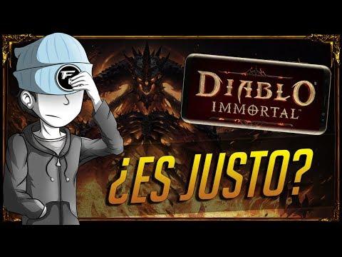 Diablo Inmortal: ¿Es Justo?