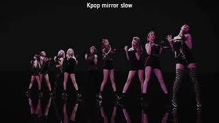 (mirrored & 70% slowed) Fancy 'Twice' Dance Teaser Choreography Video