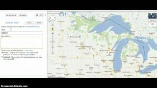 Google Maps Import KMZ File Free HD Video