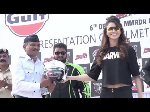 Urvashi Rautela & Amit Sadh Attend Ride...