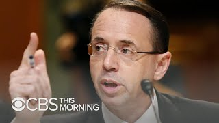 """The Apprentice"": Greg Miller on Rod Rosenstein, Russia investigation"
