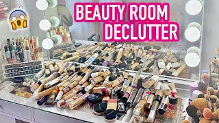 BEAUTY ROOM DECLUTTER | MY FOUNDATION COLLECTION 2020