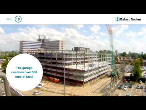 Timelapse ModuPark© solution Ballast Nedam Parking EN