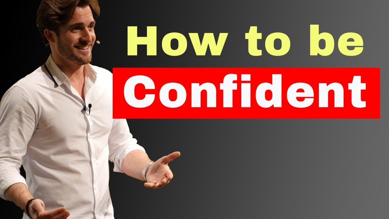 how to be confident with guys