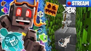 Minecraft The Deep End SMP Stream 9: Buzz Kill