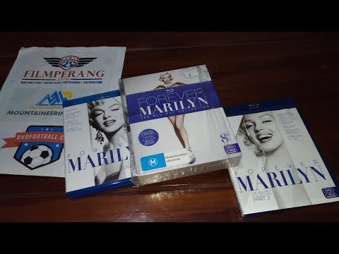 Unboxing Review - Forever Marilyn Monroe Collection Blu-ray Box set Mp3