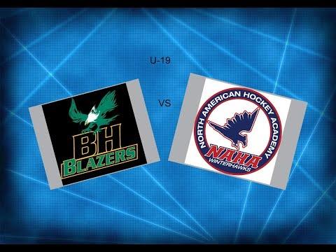 JWHL  Balmoral Hall vs NAHA  U-19 2018  ( Ridder Arena)