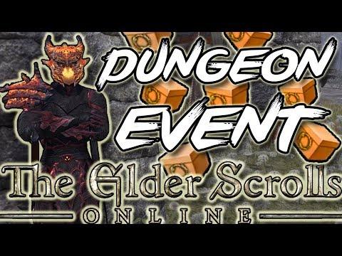 GREAT ESO DUNGEON EVENT! (Elder Scrolls Online)