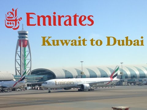 Trip Report: Emirates B777-300ER economy class from Kuwait to Dubai (Part 1). KWI-DXB