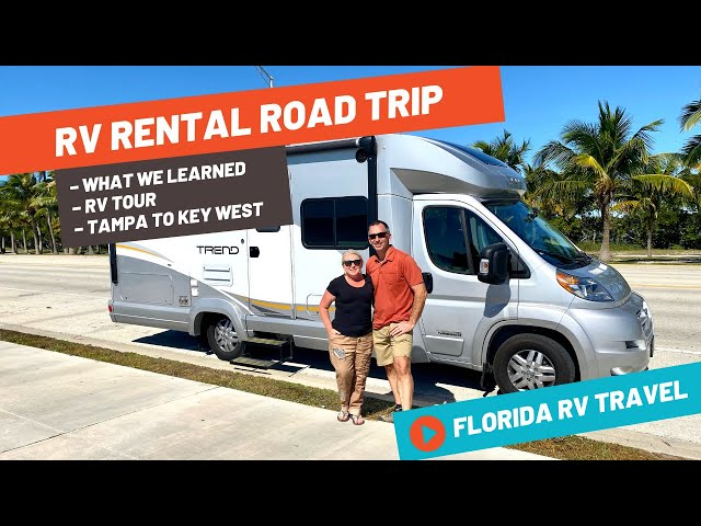 We Did an RV Rental Road Trip in Florida – RV Travel and Lessons! | RV Travel + RV Tour + Key West