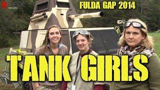 DesertFox Airsoft Fulda Gap 2014: Tank Girls (All girl tank crew wrecks at Fulda Gap))
